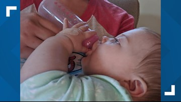 Moms donate breast milk to baby who survived crash near Gainesville that killed her parents, brother