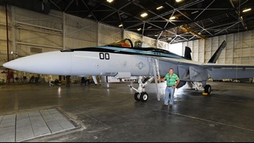 'Top Gun: Maverick' plane to undergo repairs on the First Coast