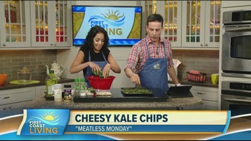 Meatless Monday: Kale Chips and Cheese (FCL June 24)