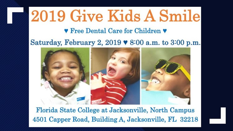 Free dental care for children offered at FSCJ North Campus