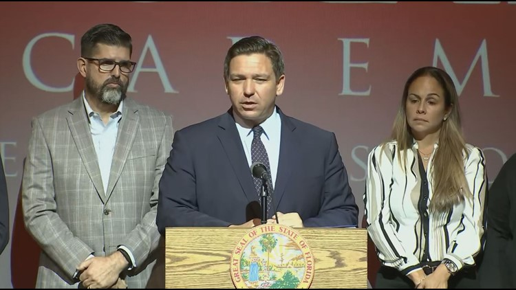Gov. DeSantis says federal handling of monoclonal antibody treatments will cause hardship for Florida COVID-19 patients