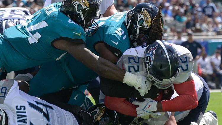 Should've, would've, could've: Miscues doom Jaguars in 37-19 loss to Titans