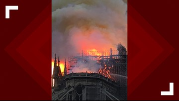 WATCH: Yulee native captures heartbreaking video of Notre-Dame Cathedral engulfed in flames