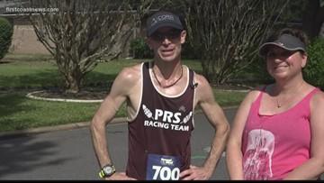 Husband of breast cancer survivor running 312 miles in three days