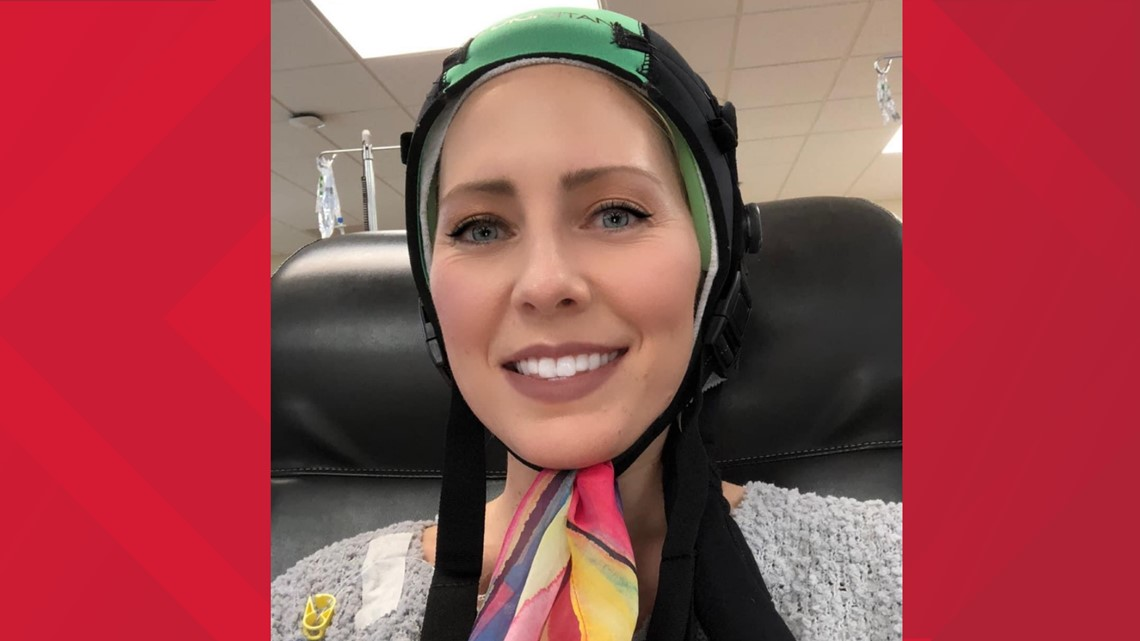 How Melanie fought against going bald during chemo