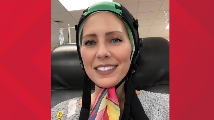 'This isn't about vanity'   How Melanie fought against going bald during chemo