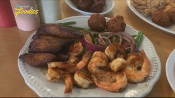 Sid and Linda's features fresh fish and authentic seafood