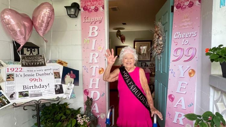 Stories of Service:  World War II veteran celebrates 99th birthday