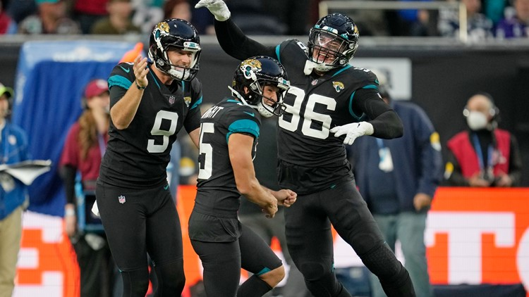 Jaguars fans experience ecstasy and relief with win: 'It's like we won the Super Bowl'