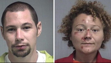 Police: Florida man, woman caught having sex in patrol vehicle following DUI arrests