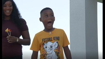 7-year-old donates Disney birthday fund to hurricane evacuees, receives big surprise from Disney