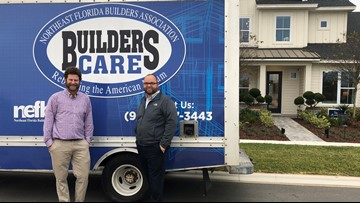 Home builder donates more than $100,000: 'This is going to change the lives of so many people'