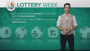 Last Day of National Lottery Week (FCL July 19)