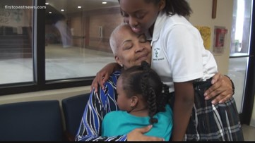 Subaru of Jacksonville helps Jacksonville woman battle cancer with a check and key lime pie
