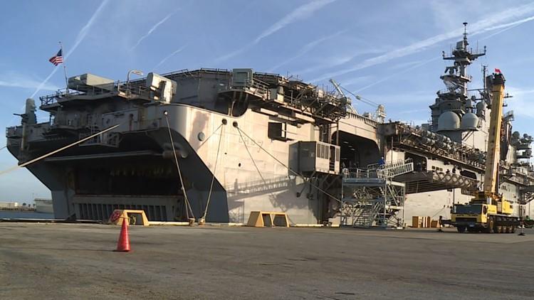 USS Iwo Jima returns from deployment to Naval Station Mayport