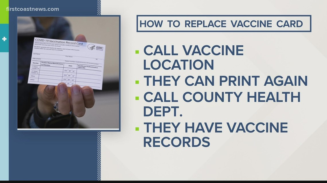 What to do if you lose your vaccine card