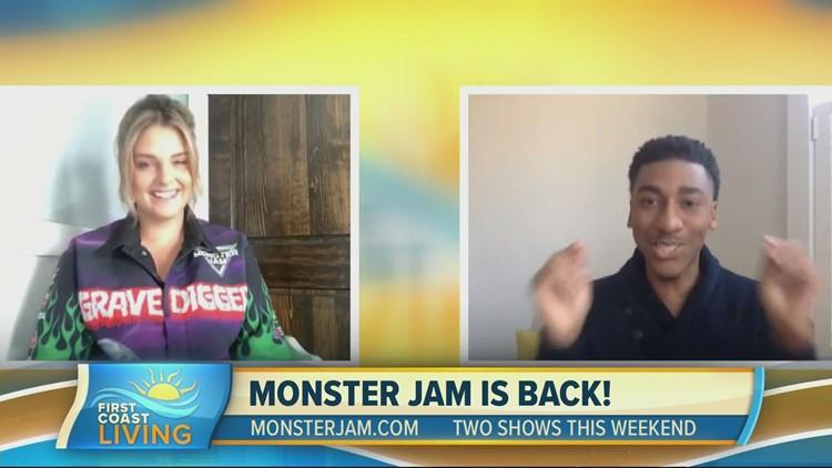 Monster Jam rolls into Jacksonville this weekend (FCL March 5, 2021)