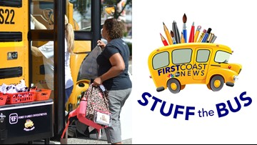 STUFF THE BUS: Collecting supplies to help teachers on the First Coast
