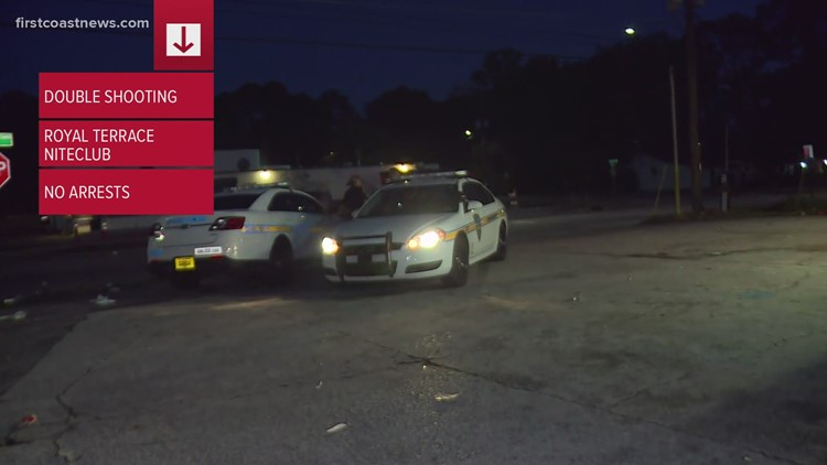 Two injured following shooting in NW Jacksonville outside men's club