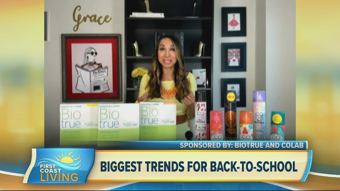 Back-to-school trends in fashion and beauty