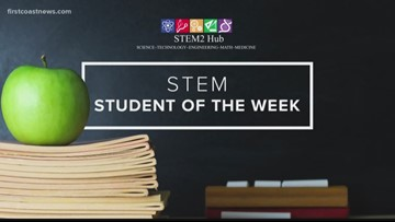 STEM Student of the Week: Alexander Hinton from Oakleaf Elementary