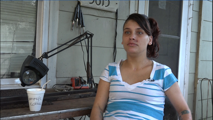 Samantha, two years clean, agreed to talk about what happened to her with JSO undercover detectives.