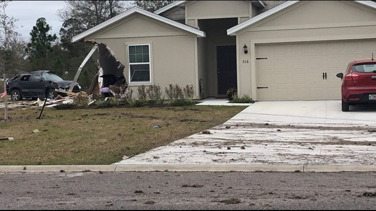 Jeep crashes into Baker County Home
