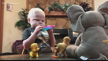3 year old with rare disorder needs liver transplant to expand lifespan