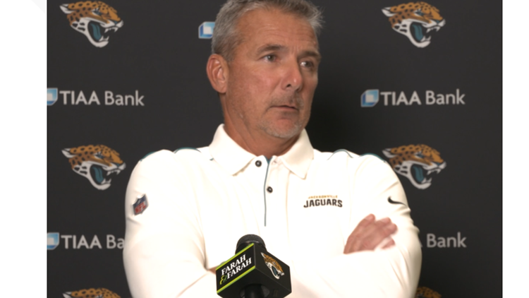 Jaguars Head Coach Urban Meyer says players' vaccination status was considered when finalizing roster