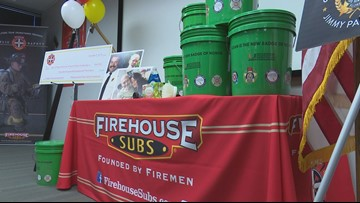 Firehouse Subs presents grant to fund decontamination kits for Florida firefighters