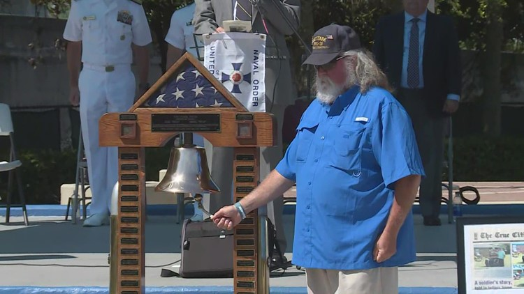 Sailors killed on USS Stark remembered in Atlantic Beach memorial service