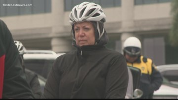 Bikers, runners brave the cold for annual Tour De Cure