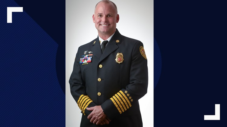 Fire Chief Kurtis Wilson retiring