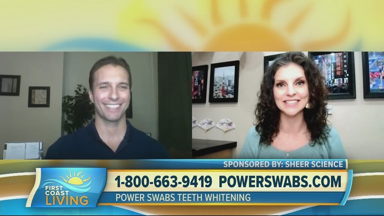 Power Swabs, the easiest way to whiten teeth (FCL July 28, 2021)