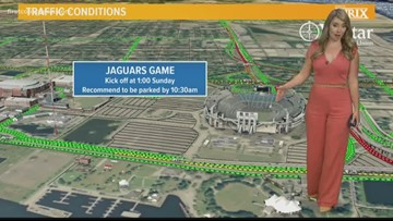 WATCH: Traffic tips for this busy weekend in Downtown Jacksonville