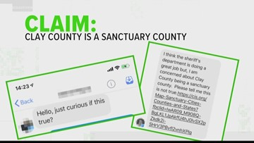 VERIFY: Is Clay County a sanctuary county?