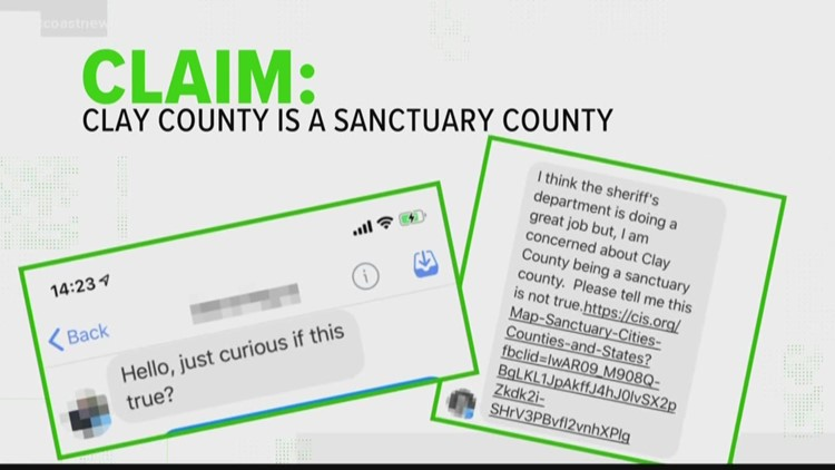 VERIFY: Is Clay County a sanctuary city?