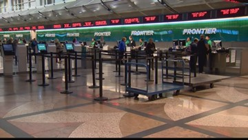 You can fly for free through Frontier Airlines if you have the last name Green or Greene