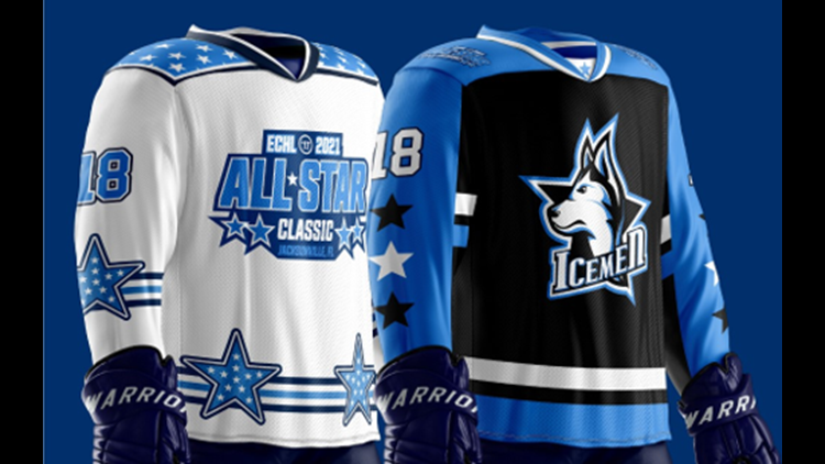Icemen Unveil Jerseys for 2021 Warrior/ECHL All-Star Classic