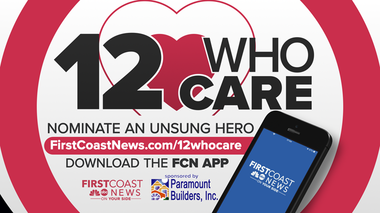 Nominate someone you know who's making the First Coast a better place for 12 Who Care community service awards