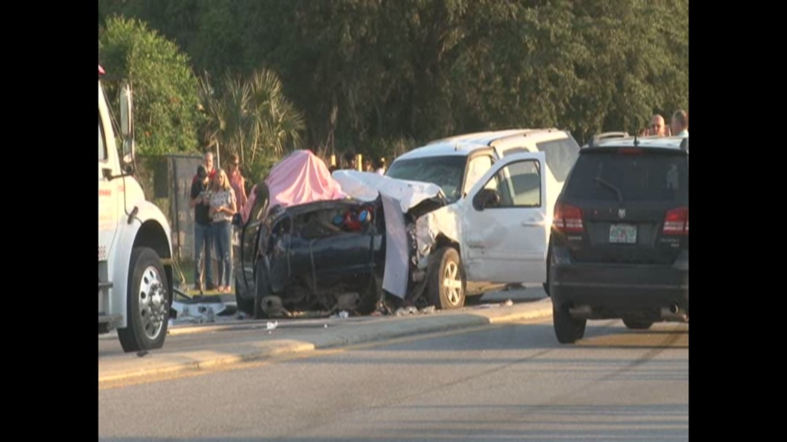 Florida Highway Patrol Traffic >> RAW VIDEO: 2 adults, 1 child killed in fatal crash in East ...