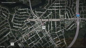 Man arrested after attempted bank robbery at NW Jacksonville Wells Fargo
