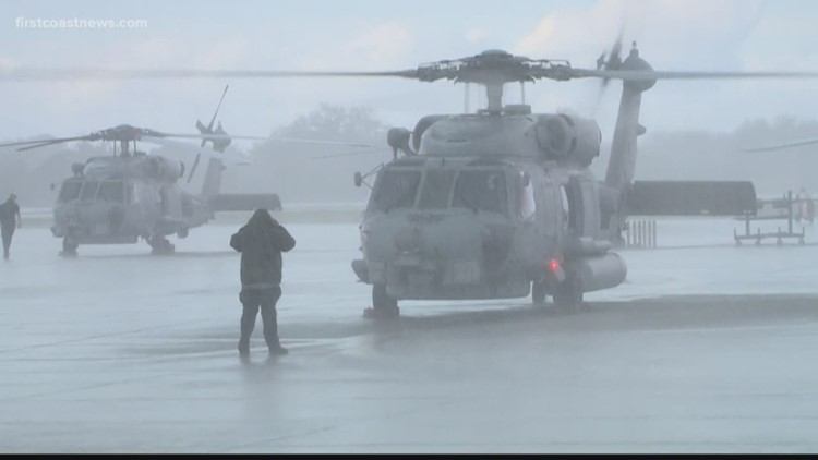 Lewis and Clark: Flying helicopters at Naval Station Mayport