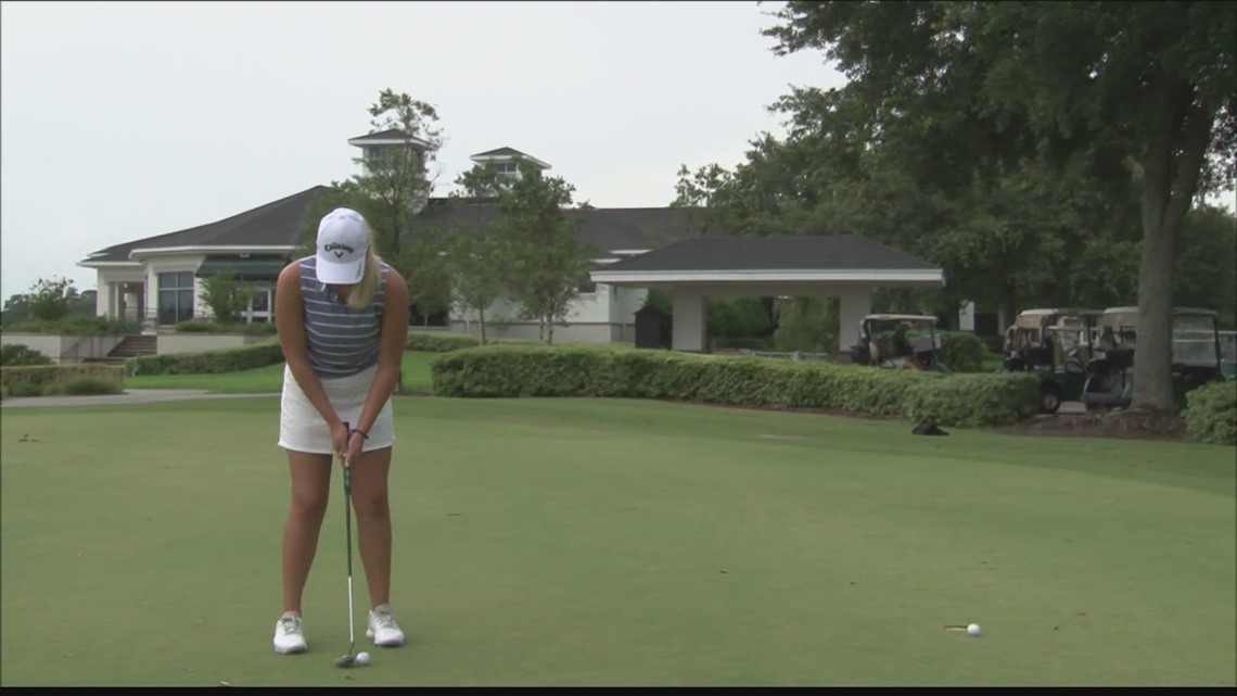 Heralded golfer Kaitlyn Schroeder begins college recruitment process
