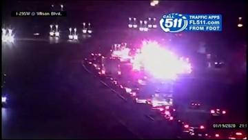 Crash on I-295 South near Wilson Boulevard causes delays