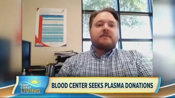Blood center seeks plasma donations (FCL April 9th 2020)