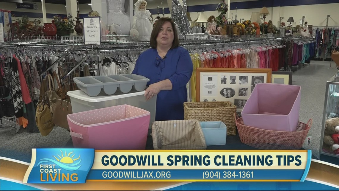 Spring cleaning tips with the help of Goodwill (FCL March 4, 2021)