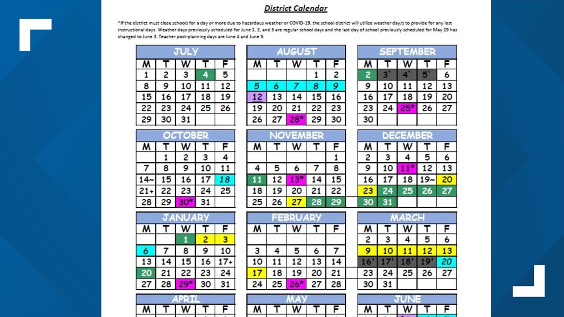 Duval County Schools Calendar 2021 Duval County extends school year by three days, angering some