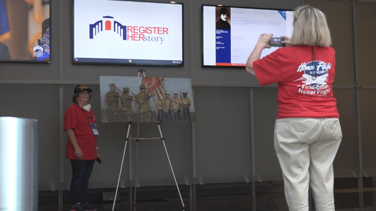 First Coast Honor Flight honoring women who served
