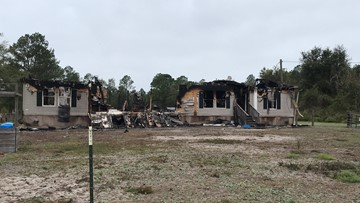 Baker County community helping family of eight after fire destroys their home